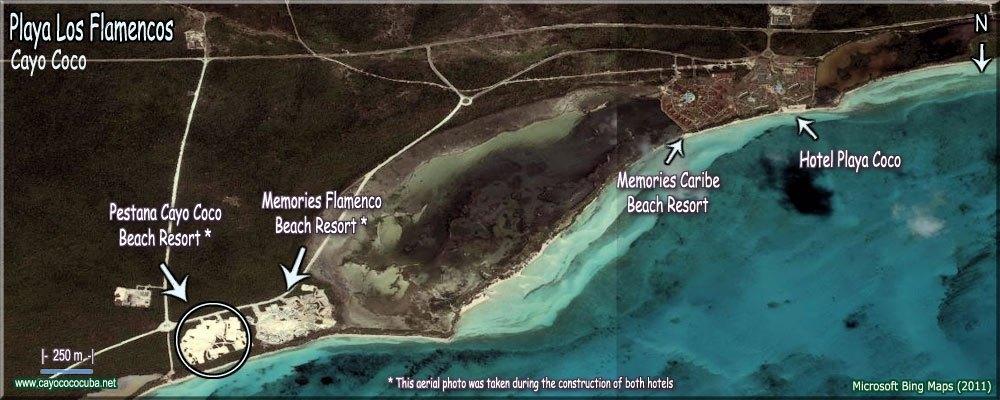 playa los flamencos cayo coco