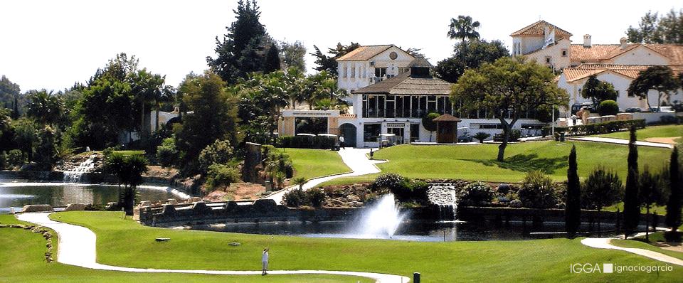 Santa María Golf & Country Club, uno de los campos de golf más internacionales de Marbella.